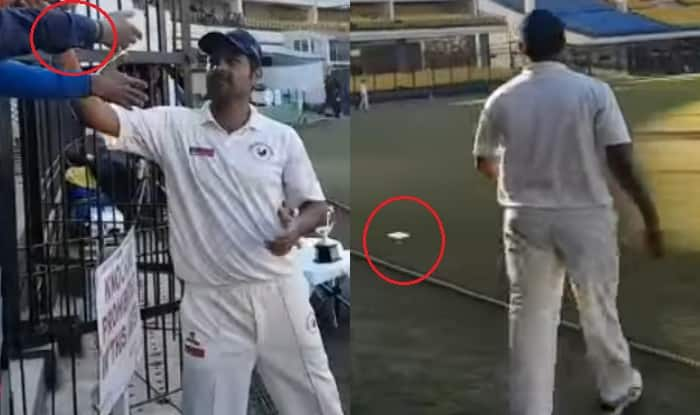 RP Singh humiliates a fan throws his phone when asked for selfie! Watch video of Indian cricketer's shocking act caught on camera