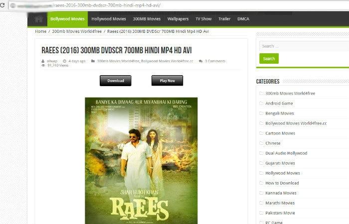 Raees full movie free download online watch