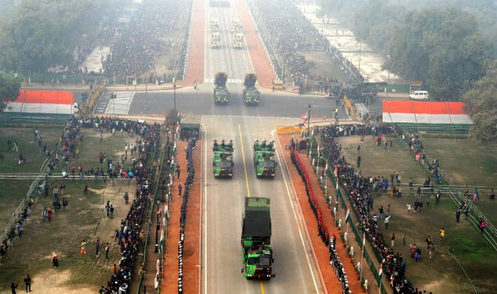 Republic Day Parade Rehearsals on