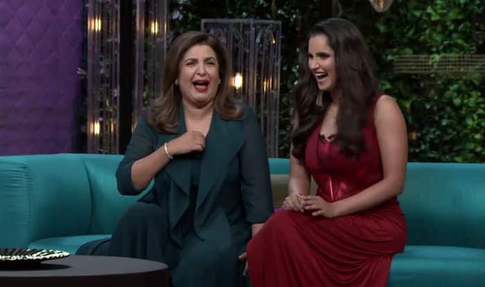 Teaser: Sania Mirza debut on Koffee with Karan 5 with bestie Farah