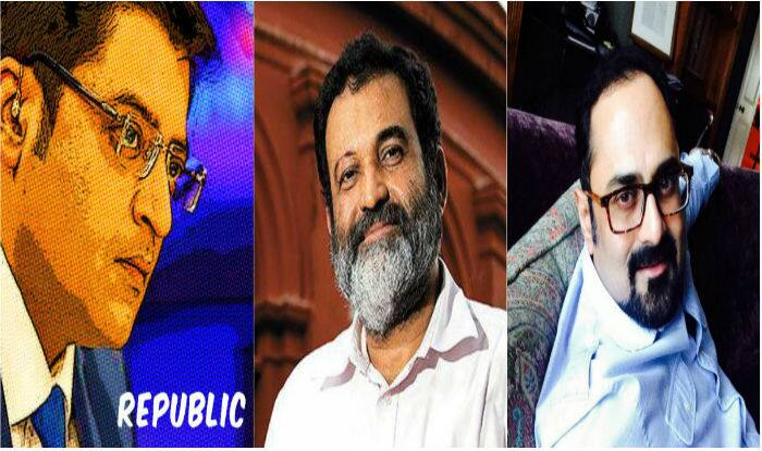 Arnab Goswami's new media venture 'Republic' funded by Rajya Sabha MP Rajeev Chandrasekhar, ex-Infosys director Mohandas Pai