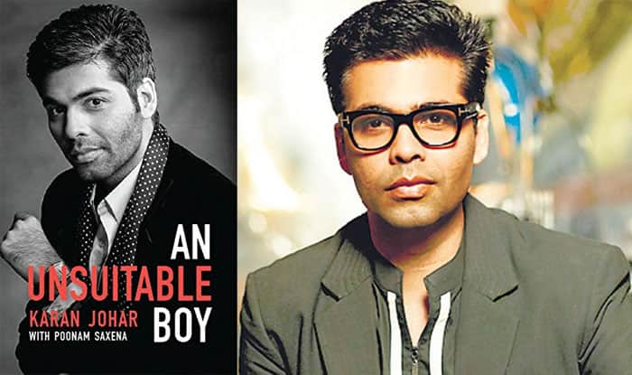 Shah Rukh Khan unveils Karan Johar's biography: 6 confessions made by KJo  in 'An Unsuitable Boy' | India.com