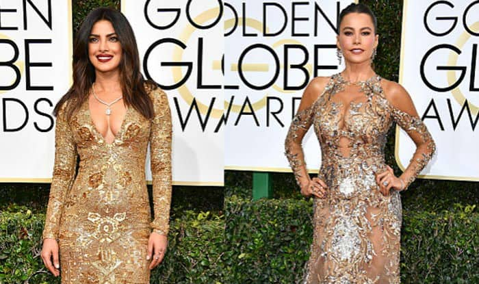 Did Priyanka Chopra just steal Sofia Vergara's style at the Golden Globe Awards 2017?