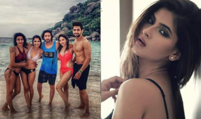 Are Kumkum Bhagya actress Sriti Jha's bikini pictures stealing Yeh Hai Mohabbatein actor Karishma Sharma's thunder?