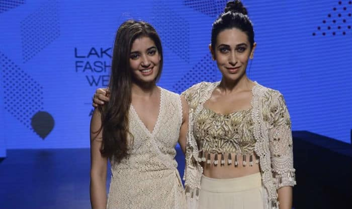 We are in love with Karisma Kapoor's boho chic LFW 2017 outfit! View pics
