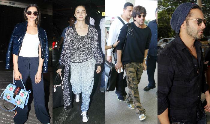 Celeb Airport Style This Week: Shah Rukh Khan, Deepika Padukone, Katrina Kaif, Alia Bhatt and Varun Dhawan impart style lessons!