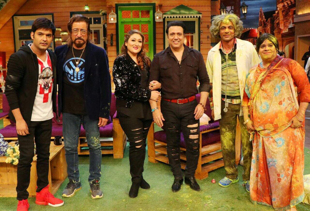 The Kapil Sharma Show: Govinda and Shakti Kapoor storm the stage