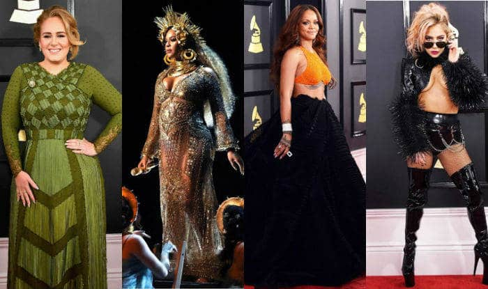 Grammys 2017 Red Carpet Looks: Adele, Beyonce, Rihanna, Lady Gaga and Jennifer Lopez slay the 59th Annual Grammy Awards with their daring choices!