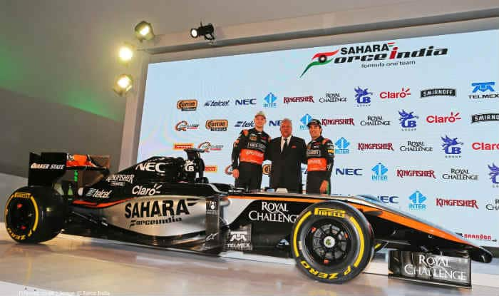 Formula One Sahara Force India Reveal Their 2017 F1 Racing Car India Com