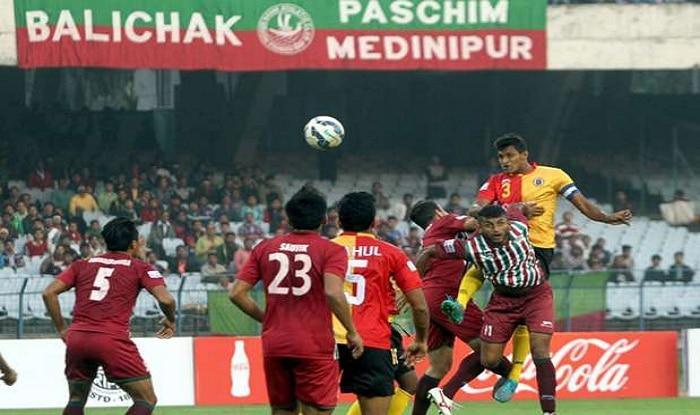 A file photo of Mohun Bagan vs East Bengal match.