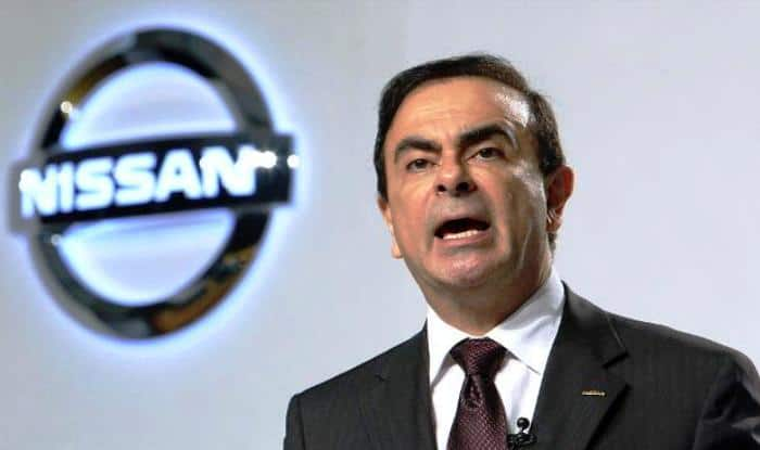 outgoing Nissan CEO Carlos Ghosn