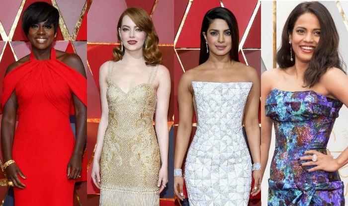 Oscars 2017 red carpet: Emma Stone, Viola Davis, Priyanka Chopra, Priyanka Bose are enchanting best dressed divas!