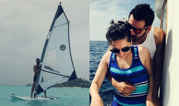 Shabbir Ahluwalia and wife Kanchi Kaul's vacation pictures will compel you to pack your bags and leave right away!