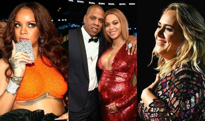 Grammy Awards 2017: Beyonce, Adele, Rihanna wore the hottest metallic dresses at the 59th annual Grammy Awards