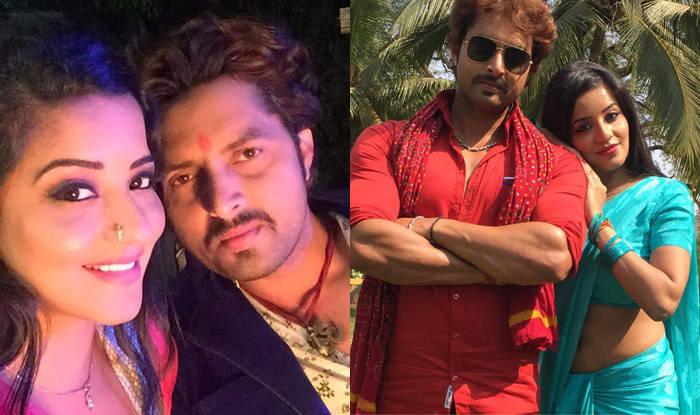 Bigg Boss 10 contestant Monalisa Antara shares pictures from Jai Shree Ram sets along with Vikrant Singh Rajput!