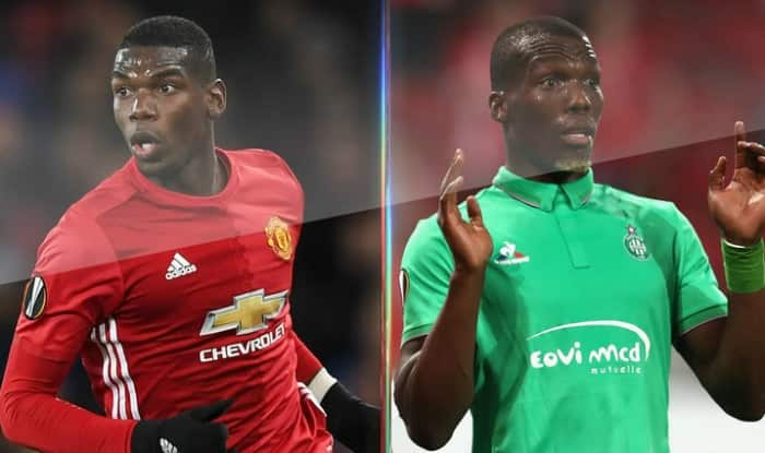 more photos 48ede d3915 Pogba brothers ready to battle in Europa League as ...