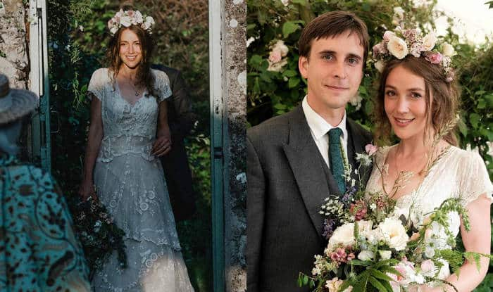 150-year-old antique wedding dress from Scotland found thanks to a viral Facebook post! See pictures