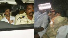 Amitabh Bachchan, Shah Rukh Khan, Sanjay Leela Bhansali and others leave for Aishwarya Rai Bachchan's father's funeral (View HQ pics)