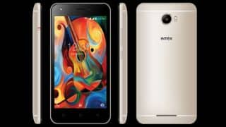 Intex launches Aqua Trend Lite smartphone with 4G and Mega Sound Speaker for Rs 5,690