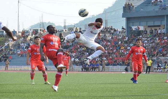 Minerva Punjab FC  share spoils with leaders Aizawl FC