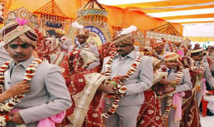 Union Minister Thawar Chand Gehlot Gets Grandson Married in Mass Wedding Ceremony