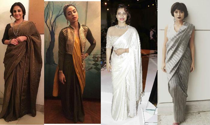 Bani J, Sayani Gupta, Kajol Devgan and Vidya Balan flaunt jaw-dropping sarees! View Pictures!