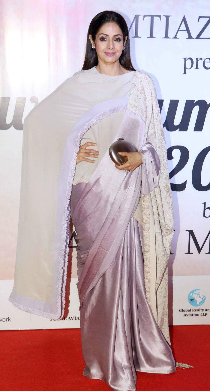 Sridevi Saree Style