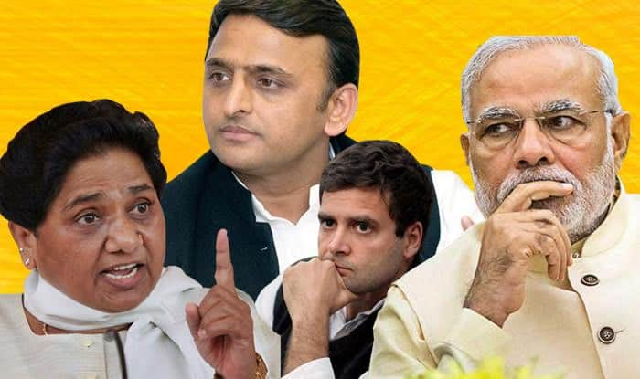 Lok Sabha Elections 2019 Exit Poll Results Show SP-BSP-RLD in Lead, BJP to Suffer Heavy Losses in UP