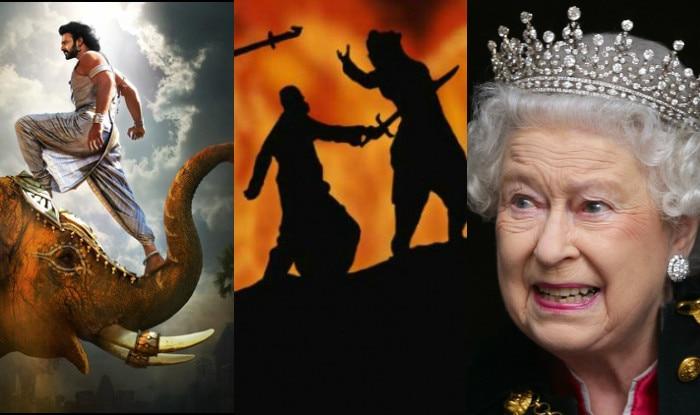 Baahubali 2: Queen Elizabeth II will know the story why Kattappa killed Baahubali before Prabhas' film releases in India!