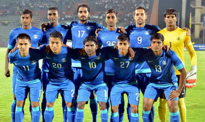 Indian Football team.