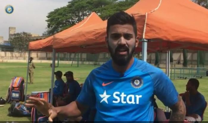India vs Australia 2017: KL Rahul gives a sneak peak into net practice of the Men in Blue