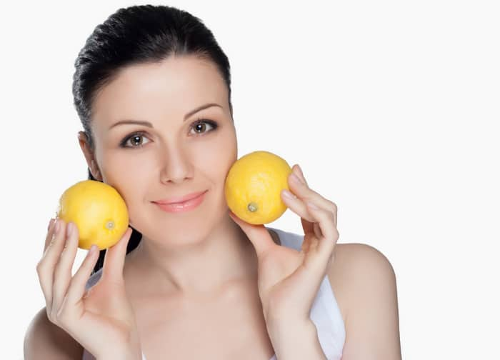lemon acne pack