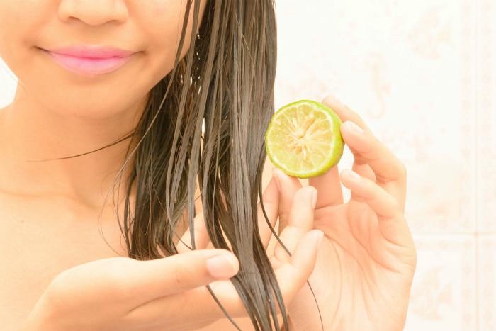 lemon hair pack