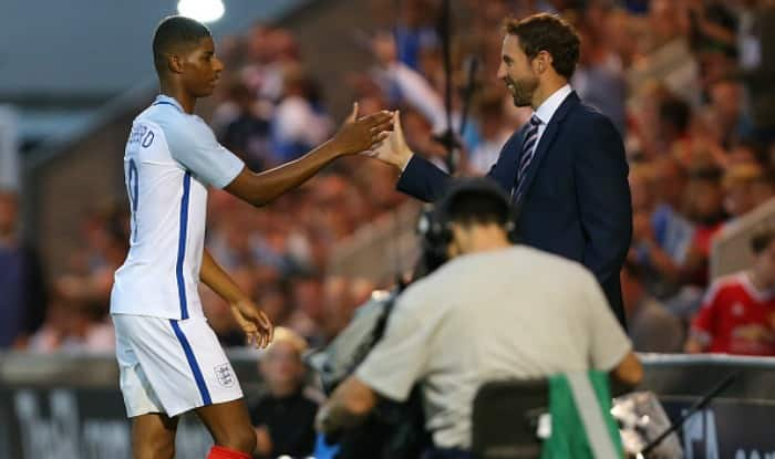 Marcus Rashford makes England team as Gareth Southgate announces squad for Germany and Lithuania matches