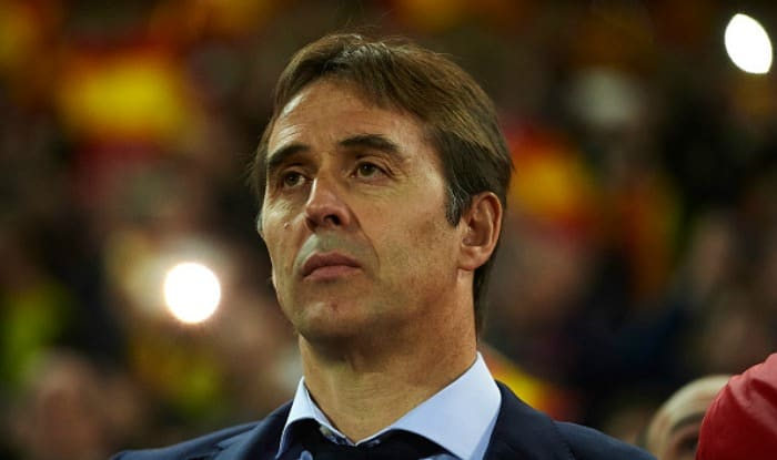 Real Madrd coach Julen Lopetegui. (Getty Image)