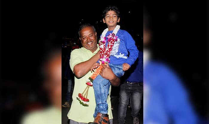 Oscars 2017: Sunny Pawar, India's youngest ever star at the Academy Awards gets a grand welcome in Mumbai – view pics