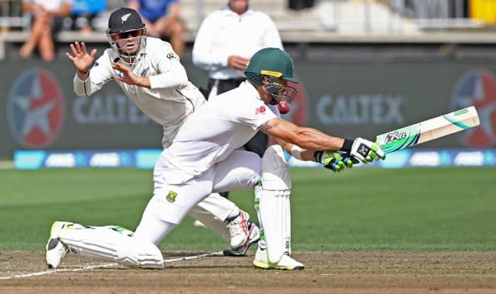 Tom Latham defies gravity to pull off stunning catch dismissing Faf du Plessis, watch video