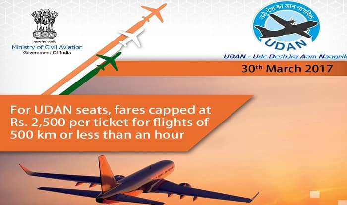 Udan scheme: List of 45 new airports, over 70 new routes announced today; 5 airlines make the cut
