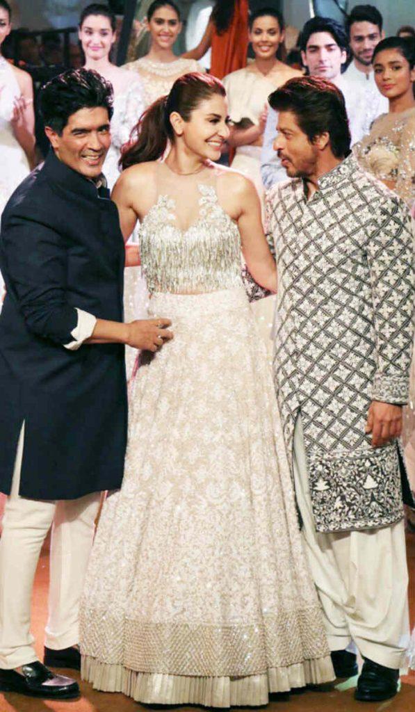 Shah Rukh Khan and Anushka Sharma grace the ramp at Mijwan Fashion Show 2017