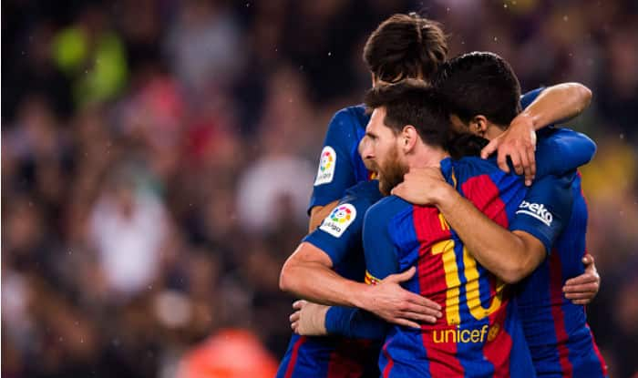 Lionel Messi scores 500th goal as Barcelona beat Real Madrid 3-2