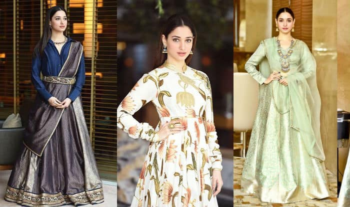 Indulge Yourself Into Ethnic Fashion With Umbrella Skirt And Peplum Tops in Mughal Prints