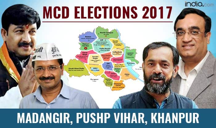 MCD Election results 2017: BJP secures Madangir, Pushp Vihar and