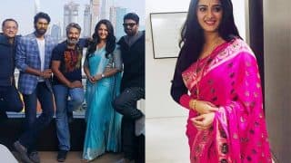 Baahubali 2 premiere: Anushka Shetty takes Dubai by storm with her sarees! View pictures