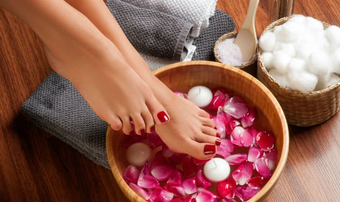How To Give Yourself A Pedicure At Home Follow This Step By
