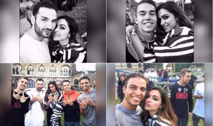 Deepika Padukone poses and pouts on the sets of Raabta! View Pictures