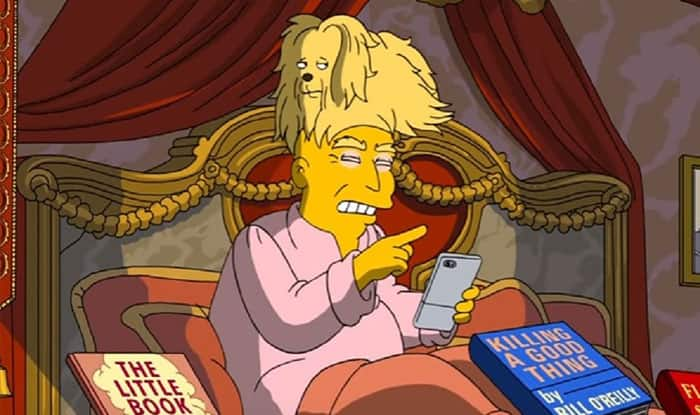 The Simpsons pokes fun at Donald Trump's 100 days in office (Watch Video)