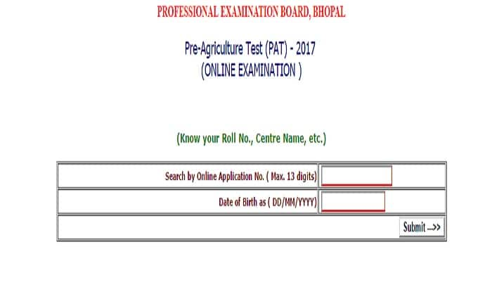Vyapam MP PAT 2017 Admit Card Released: Download from vyapam.nic.in