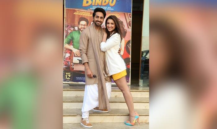 Meri Pyaari Bindu co-stars Parineeti Chopra and Ayushmann Khurrana ace the promotional style vibe! (View Pics)