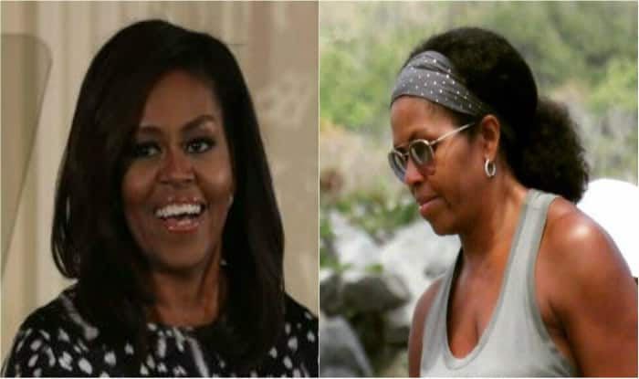 Picture of Michelle Obama sporting her natural hair goes viral!