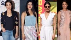 Priyanka Chopra on a repeat mode of DRESS, PARTY, SLAY in India with 4 snazzy looks! View Pictures